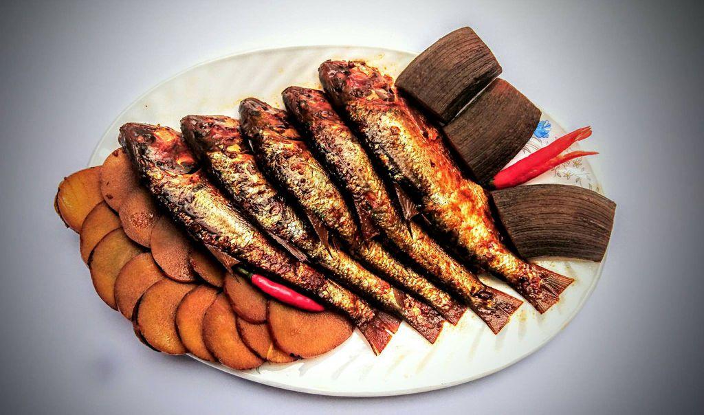 Đậm đà hương vị cá mòi